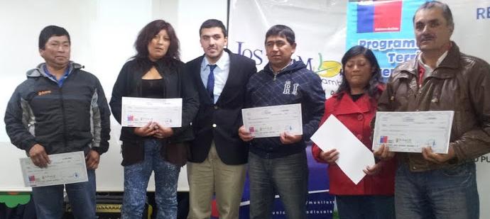 Más de 130 agricultores de Los Álamos recibieron el Bono FAI
