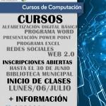 EN LOS ÁLAMOS SE DICTARÁN CURSOS DE COMPUTACIÓN GRATIS