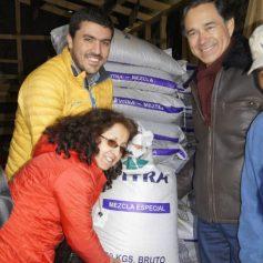 Entrega de fertilizantes prodesal 2